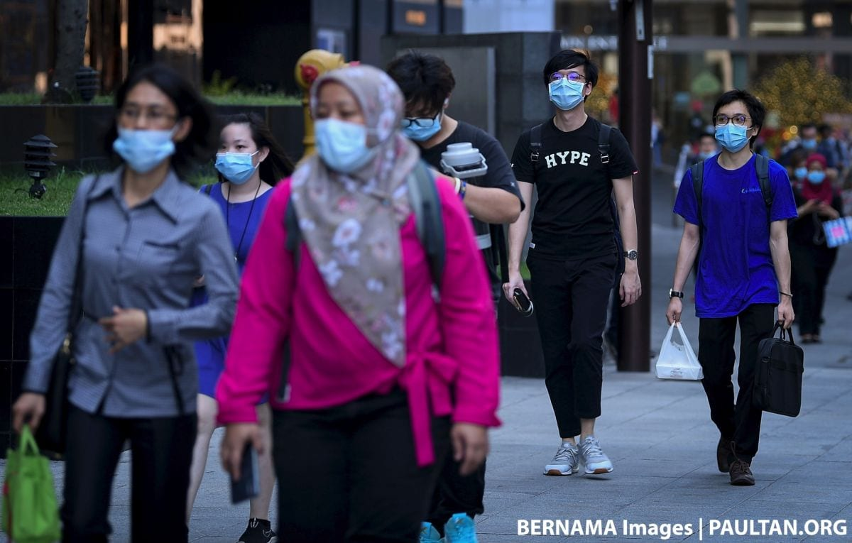 Those refusing to wear face masks could be fined or jailed once use becomes mandatory - Noor Hisham