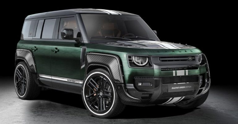 Land Rover Defender Racing Green Edition by Carlex Design – brown and green-themed SUV; RM420k