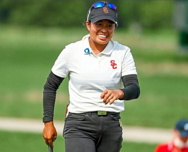Golf: Amazing Alyaa fights back to stay in contention
