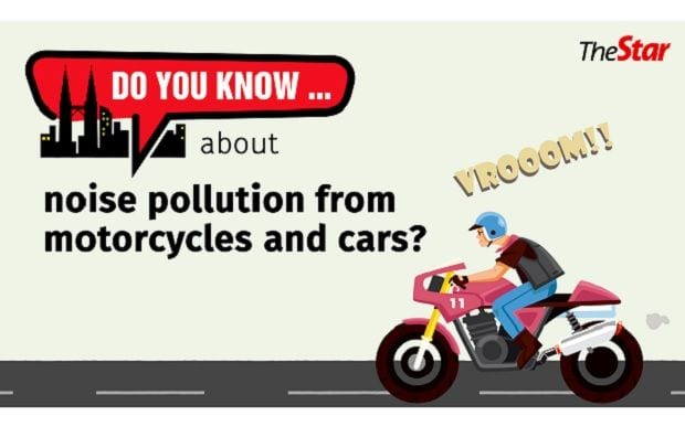 Do you know…about noise pollution from motorcycles and cars?