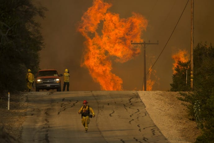 California leader says fires are 'new normal' – World