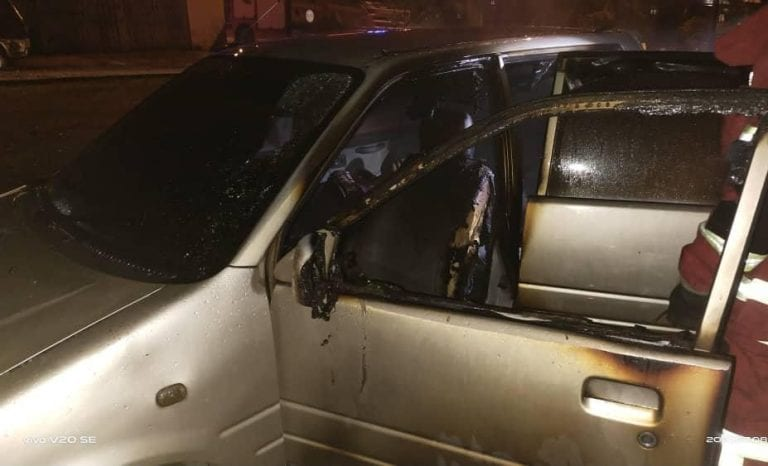 Woman found burnt to death in car