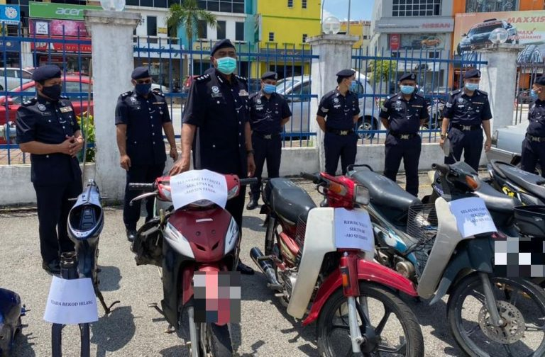 Police bust vehicle theft ring in Gombak