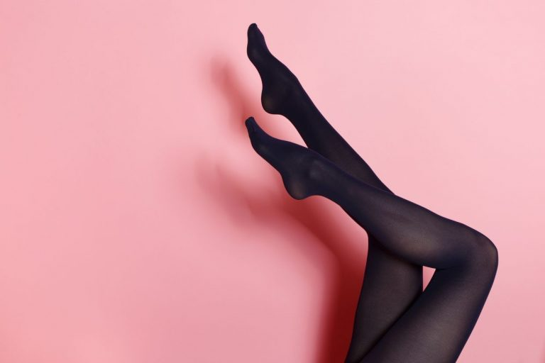 If you must know, 'green' stockings are fashion's new cool and sexy