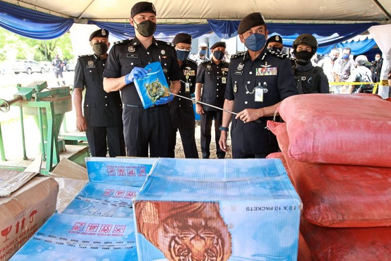 Cocaine worth RM50mil seized, drug ring crippled in seven raids