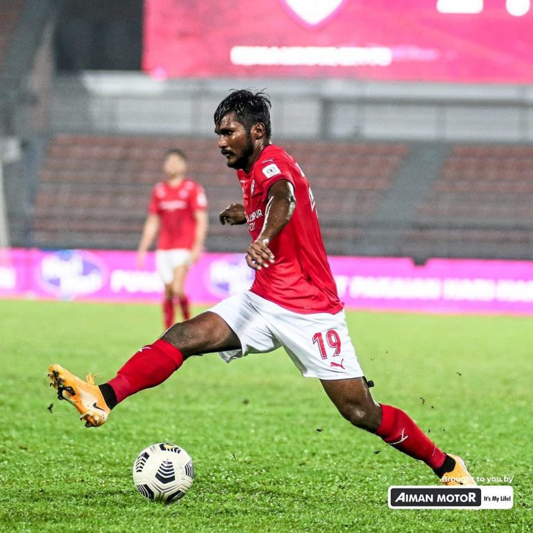 Football: Partiban finds wind beneath his wings in KL
