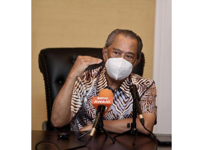 PM gave me wide powers with NRC chairman role, says Muhyiddin