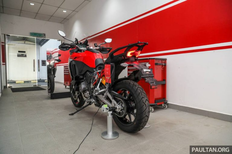 2021 Ducati Multistrada V4S in Malaysia – we take a close look at Ducati's Motorcycle Radar System