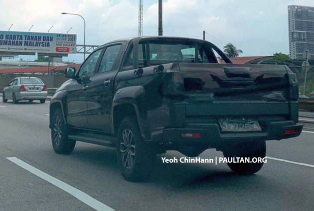 SPIED: JMC Vigus Pro sighted in Malaysia – Chinese pick-up to be sold by Tan Chong's Angka-Tan business
