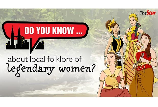 Do you know…about local folklore of legendary women?