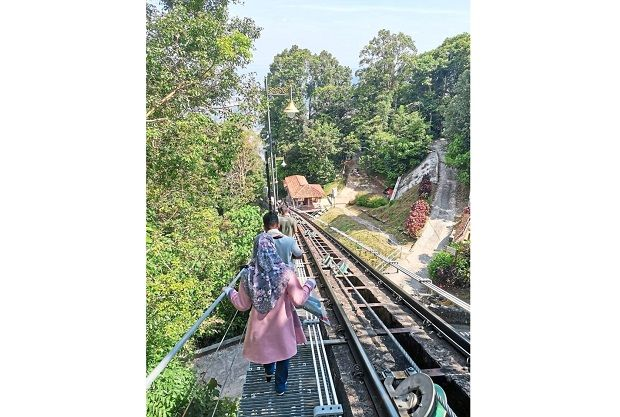 Penang Hill train back on track after breakdown